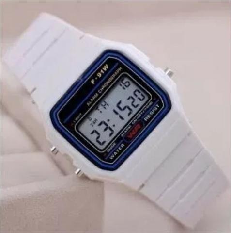 00730fbe399 Relógio Retrô Vintage Digital Unissex Colorido Oferta 2 relógios R ...