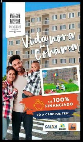 07 - COHAM- Apartamentos 100% FINANCIADO! - Foto 4