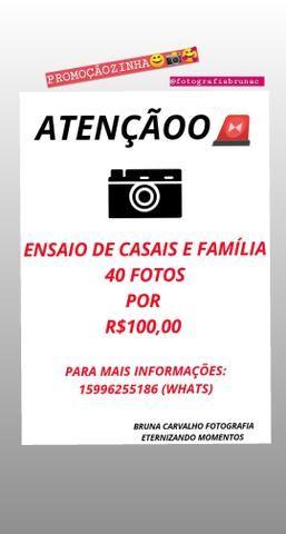 Promoção Ensaio Fotográfico