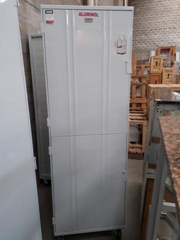 Armário 2 portas 58x70 Aluminol Imeca