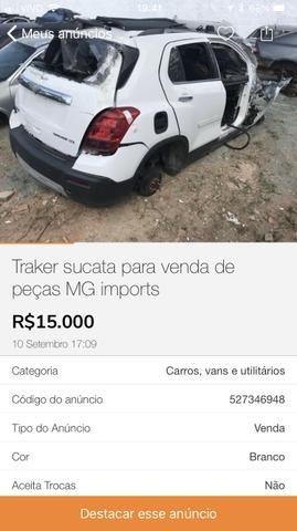 Traker sucata MG Imports
