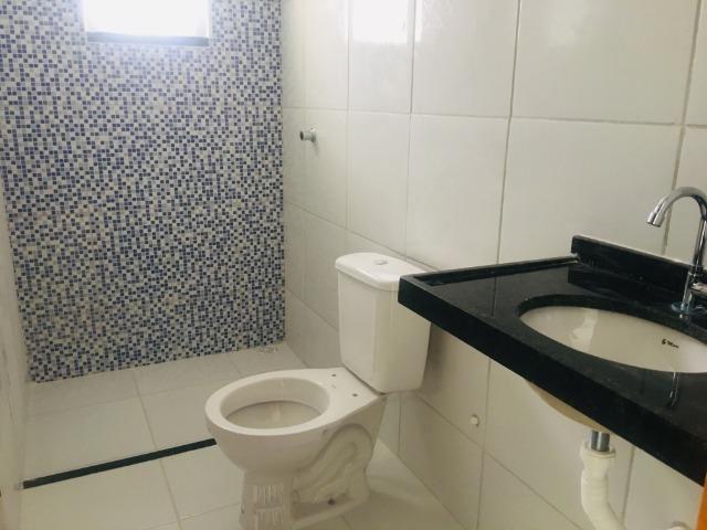 Linda casa no porcelanato , 2 quartos 2 suites , fino acabamento ,sala e quartos espaçosos - Foto 10