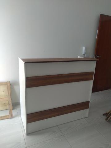 Kit Móveis para loja cor madeirada ou branca - Foto 3