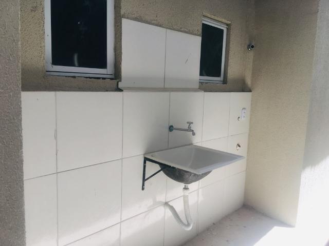 Linda casa no porcelanato , 2 quartos 2 suites , fino acabamento ,sala e quartos espaçosos - Foto 12
