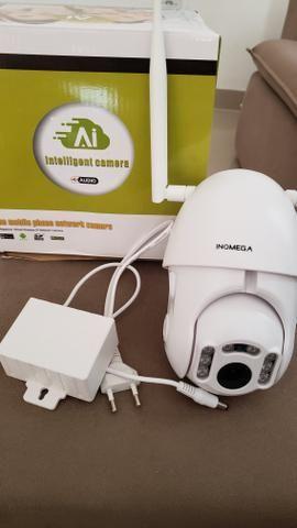 Camera com visão noturna wifi e prova d'água