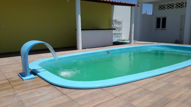 Aluga-se casa para temporada na praia de Jatobá, com piscina - Foto 10
