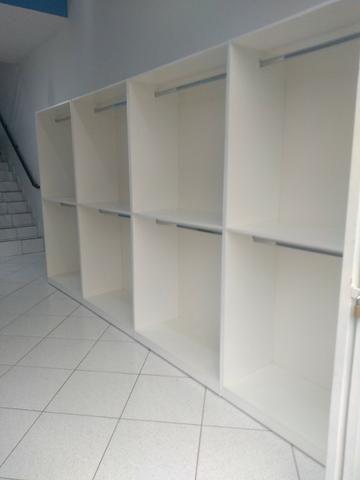 Kit Móveis para loja cor madeirada ou branca