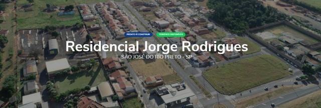 Terreno no Res. Jorge Rodrigues em S. J. do Rio Preto