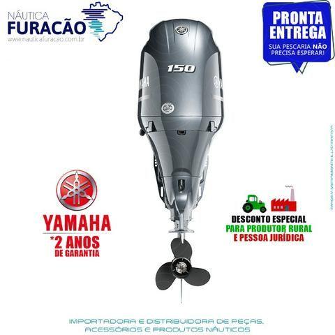 Motor de popa Yamaha 4T F 150hp Detl