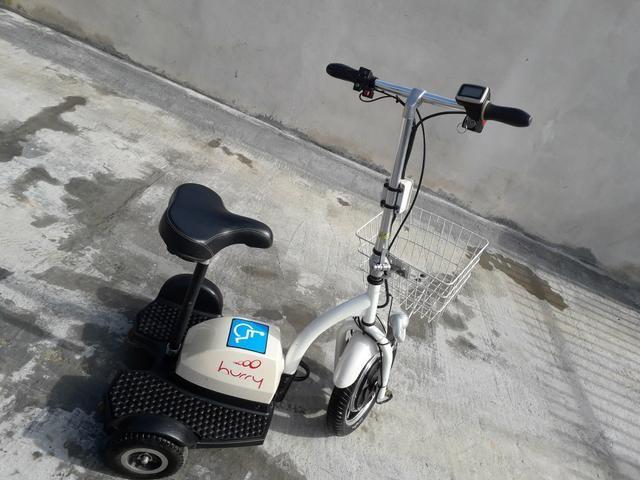 Triciclo elétrico com carregador - Foto 3