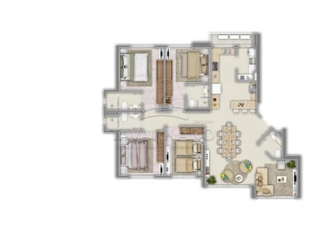 Apartamento à venda com 4 dormitórios em Centro, Balneario camboriu cod:V4686 - Foto 2
