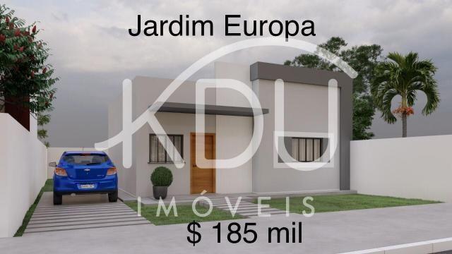 Casa à venda, 2 quartos, Jardim Europa - Primavera do Leste/MT