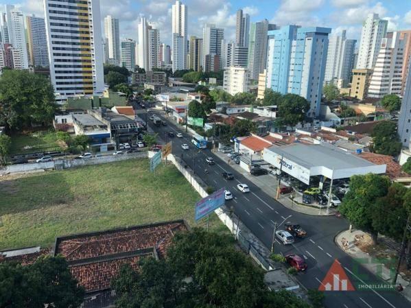 Flat com 1 dormitório para alugar, 40 m² por R$ 2.000,00/mês - Madalena - Recife/PE - Foto 4