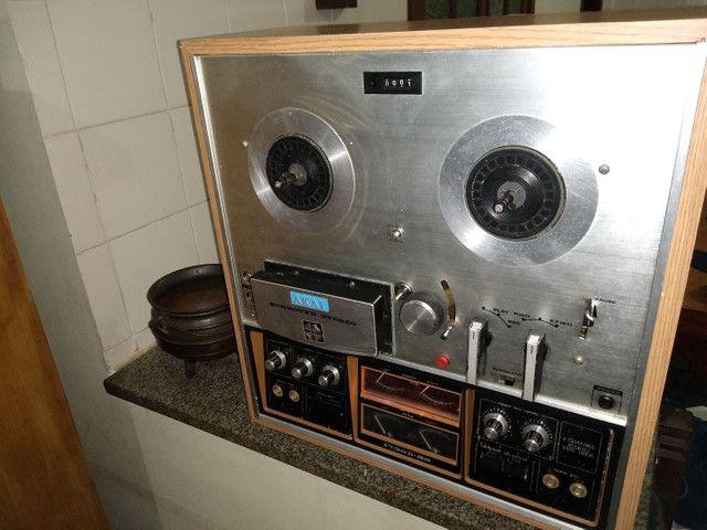 Tape Deck Rolo Akay 1730 D SS