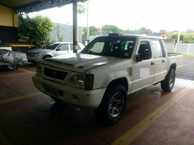 L200 RIII rally Sertões 2003 Turbo, Intercooler,4x4 diesel (leia o anúncio completo) - Foto 3