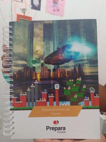 Livro novo do curso de Desenvolvedor de games - Foto 3