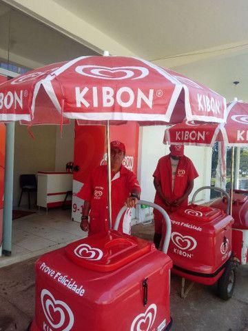 Vendedor de picolés da kibon - Foto 4