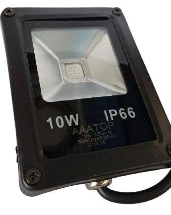 Refletor 10W - Azul   IP66 - Foto 2