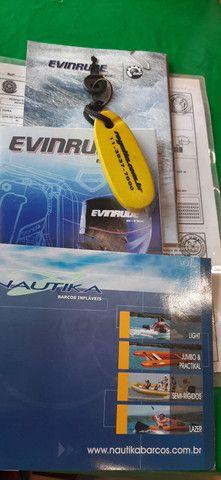 Bote Inflável c/ Evinrude Etc 50 HP - Foto 8