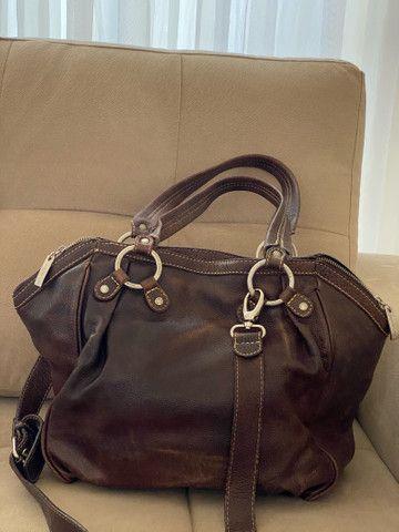 Bolsa em couro legítimo Calvin Klein - Foto 4