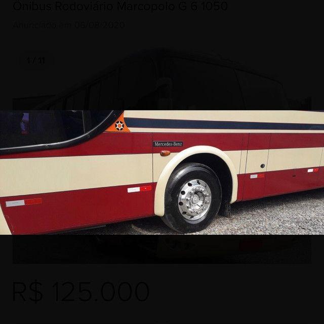 ônibus rodoviário marcopolo g 6 1050 - Foto 4