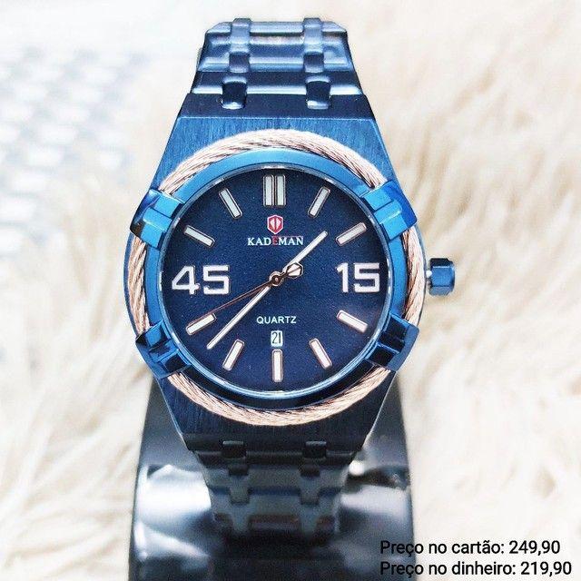 Relógio Masculino Original Kademan EXCLUSIVO