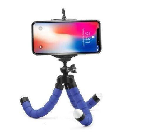 Tripé Flexível Com Suporte Para Smartphone - Foto 3
