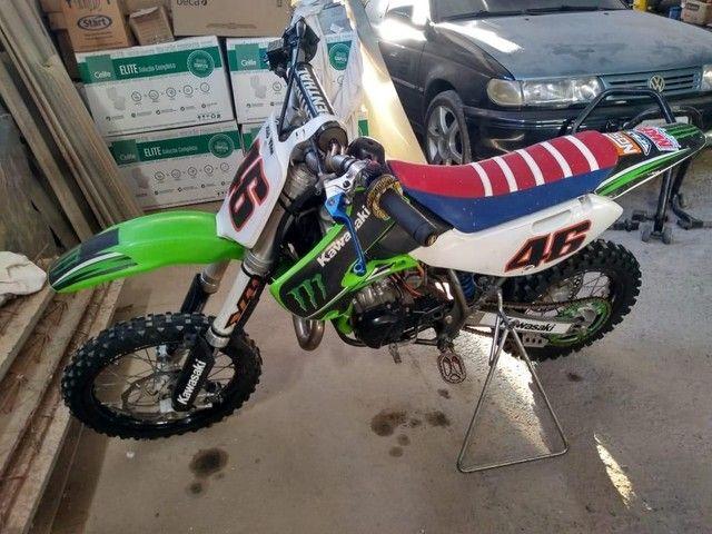 Kx 65cc 2009 oficial cheia de acessórios