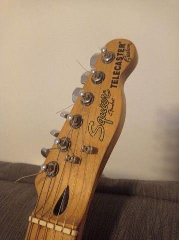 Guitarra Fender Squier Telecaster Custom - Foto 4