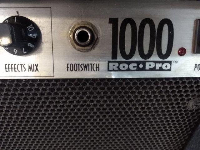 Cabecote Fender Roc-Pro 1000 c caixa Fender p guitarra (Mixer Instrumentos Musicais) - Foto 2