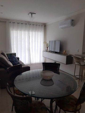 lindo apartamento no Gravatá Navegantes mobiliado 03 dormitórios ótima localização - Foto 2