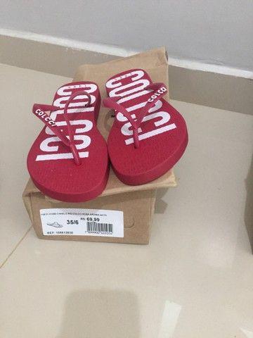 Sandálias femininas ORIGINAIS da colcci pela metade do preço  - Foto 5