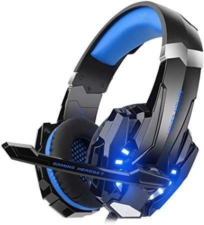 CIC G9000 Fone de ouvido Gamer, Luz LED - Azul