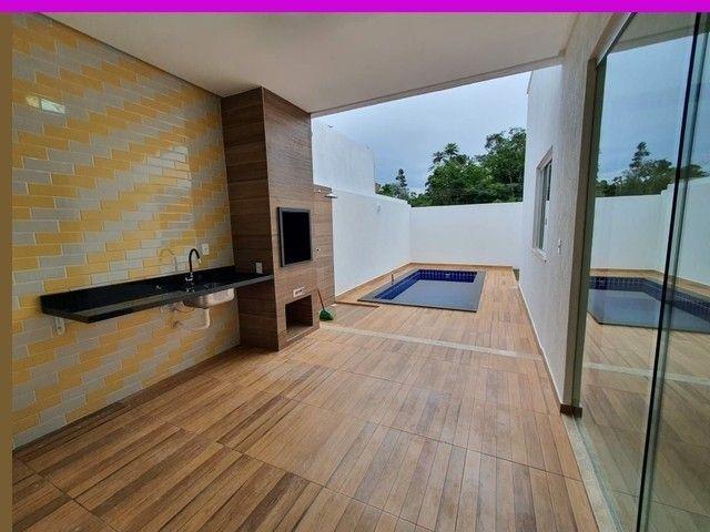Negra comPiscina Ponta Casa 3 Suítes Condomínio morada dos Pássa - Foto 20