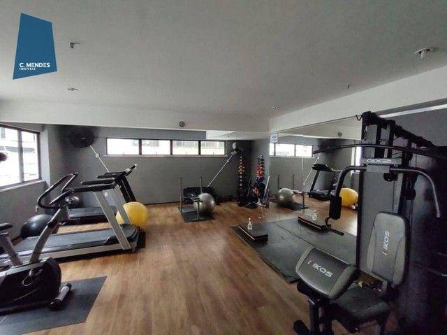 Apartamento com 3 dormitórios à venda, 63 m² por R$ 420.000,00 - Meireles - Fortaleza/CE - Foto 7