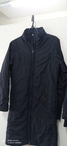 Vendo dois casacos feminino tamanho p ok - Foto 4