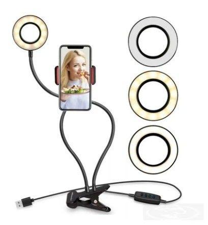 Ring Ligth Para Selfiei Vídeos e Fotos - Foto 2