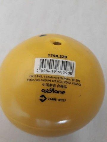 Bola de pilates grande 55cm + Bola de pilates com peso - Foto 2
