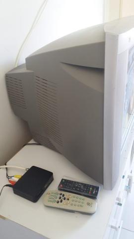 Tv 21 polegadas + conversor