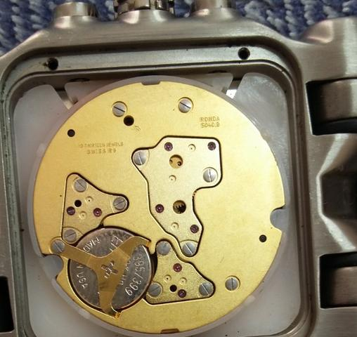 134d67f1527 Relógio Oakley Tank Minute Machine Titanium valor  5.200