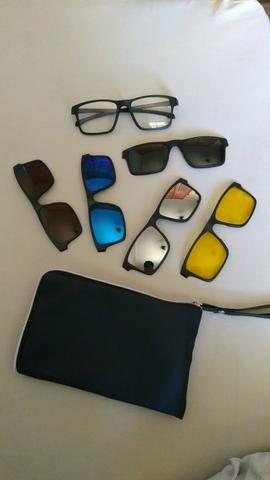 e4c316733fb79 Kit 6 em 1 óculos para grau + armações de sol - Bijouterias ...
