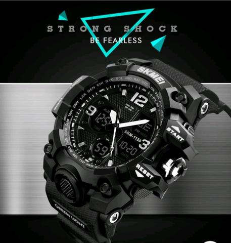64ac5662ad7 Relógio Masculino games Shock Sport Militar Skmei Super Promoção ...