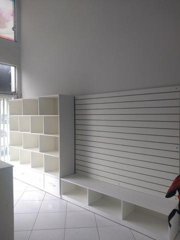 Kit Móveis para loja cor madeirada ou branca - Foto 6