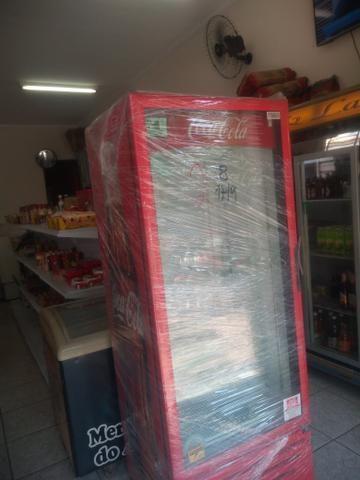Geladeira Metal frio coca - Foto 2