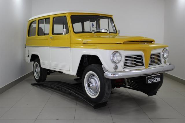 FORD RURAL 1967/1967 2.8 4X4 6 CILINDROS 12V GASOLINA 2P MANUAL