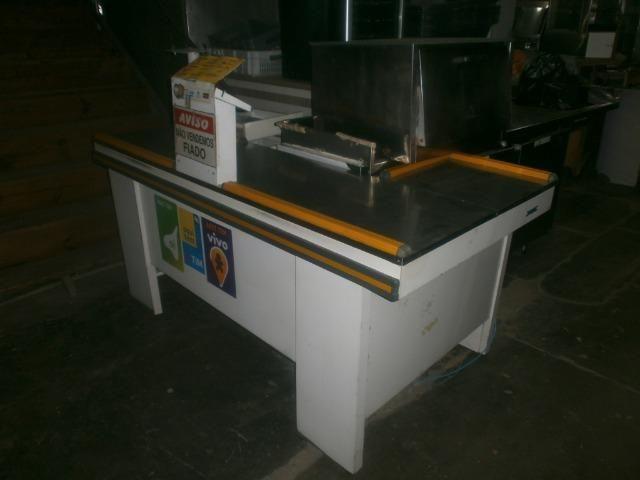 Balcão caixa de mercado - check out - Foto 5