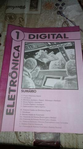 12 livros Novos Eletrônica digital+ Multimetro digital Novo - Foto 2