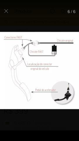 Pedal fest reduz o atraso do acelerador - Foto 5