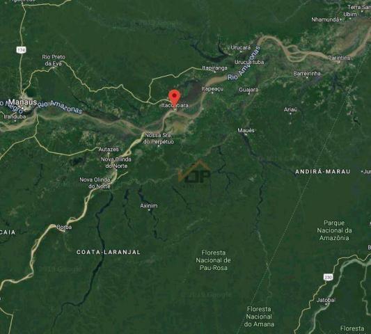 Terreno à venda, 154 m² por r$ 578.400 - zona rural - itacoatiara/am - Foto 2