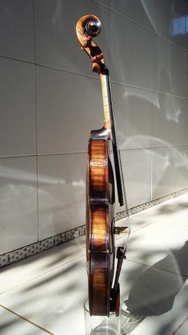 Extraordinário* Violino Antigo, Francês, Centenário. Raridade. Link de vídeo na descrição - Foto 4